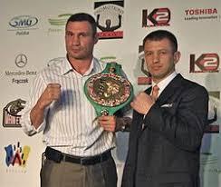 Кличко Виталий Владимирович Википедия Кличко и Адамек на пресс конференции перед боем