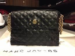 Marc Jacobs Black Quilted Shoulder Bag – Shoulder Travel Bag & Marc Jacobs Black Quilted Shoulder Bag 105 Adamdwight.com