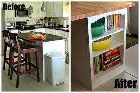 kitchen island custom bookcase tutorial created for homesdotcom by sewwoodsy com diy