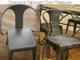spray painting metal furnitureKitchen Chair Makeover Overstock Tabouret Chairs Painted