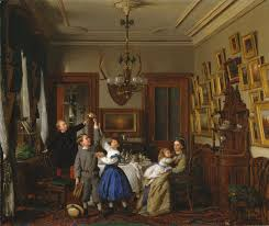 american scenes of everyday life essay heilbrunn the contest for the bouquet the family of robert gordon in their new york dining