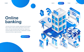 Bank Graphic Design Modern Isometric Design Concept Of Online Banking Download