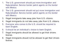 immigration debates essay research and discuss your topic and  3 1