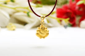 Gold Locket Design In Nepal Ganesh Pendant In Gold Design Iii
