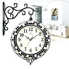 pretty wall clocks beautiful wall clocks beautiful double sided wall clock living room home modern minimalist clock creative personality beautiful wall