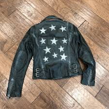 mauritius womens leather jacket olive star 2
