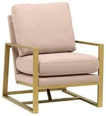 Smart design furniture Diy Home Decor Image Unavailable Hgtvcom Amazoncom Rivet Charlotte Modern Brass Accent Chair Dusty Rose