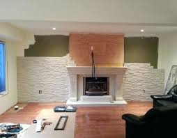 feature wall with fireplace feature wall fireplace wallpaper
