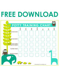 Potty Chart Free Potty Training Chart Free Download Vancouvers Best Baby