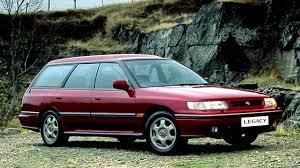 Subaru Legacy Station Wagon UK spec BC '1992–93 - YouTube
