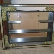 antique wall mirror with shelf best decor things