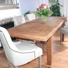 rustic extendable dining table farmhouse reclaimed wood dining table extendable modish living eci furniture rustic oak