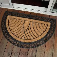 semi circle doormat rugs coco door mats half circle floor mat cardinal doormat where to