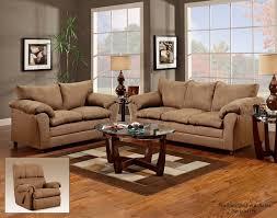 O 1150 Flatsuede Taupe Sofa U0026 Loveseat