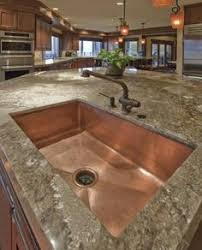 hammered copper kitchen sink: copper farmhouse sink not only beautiful but also provides essential antimicrobial properties which makes