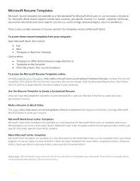 Resume Microsoft Word Template College Resume Templates Doc Free ...