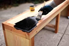 does staining wood prevent warping