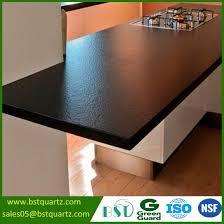 stain resistant matt grey surface quartz stone kitchen countertop
