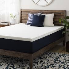 black foam mattress topper. Plain Topper Crown Comfort 25inch Ventilated Memory Foam Mattress Topper Black Intended Topper