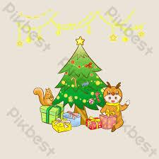 สุขสันต์วันคริสต์มาสวาดการ์ตูน   องค์ประกอบกราฟฟิก แบบ PSD ดาวน์โหลดฟรี -  Pikbest