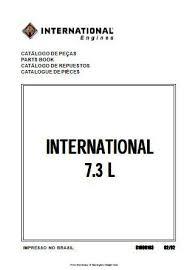 International IH T444E specs, bolt torques and manuals