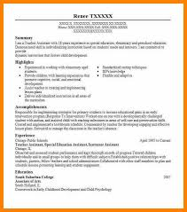 10 Teacher Assistant Resume Dos Joinery