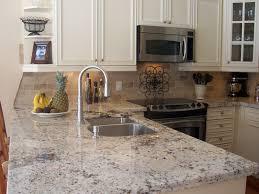 Cashmere White Granite For Countertop And Kitchen Island HomesFeed - White granite kitchen