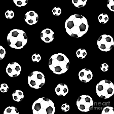 Soccer Ball Pattern Gorgeous Soccer Ball Pattern Digital Art By Li Or