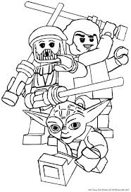Lego Clone Wars Coloring Pages Color Bros
