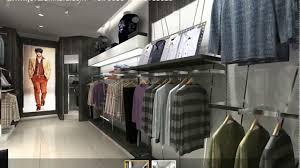 Interior Design For Menswear Menswear Shop Interior Design 3d Clothing Display Ideas