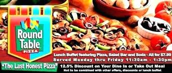 round table pizza buffet hours round table lunch buffet round table lunch buffet round table pizza