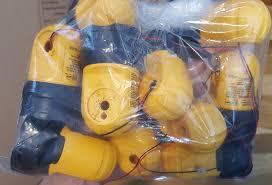 dewalt flashlight 18v. bag of dewalt 20v dcl040 led worklight heads flashlight 18v