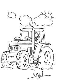 Tracteur Coloriage Pour Enfants Pinterest Tracteurs