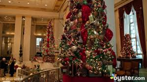 best new york hotel holiday decorations