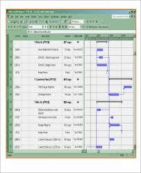 13 Excel Construction Schedule Templates Free Premium