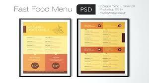Free Premium Restaurant Menu Templates Food Template Word