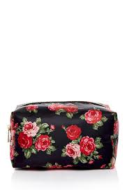 rose print makeup bag forever 21 beautymark