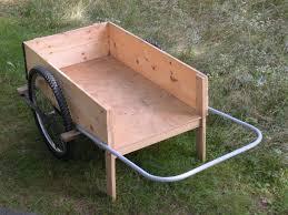 completed garden cart