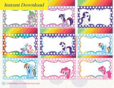 Small Picture my little pony birthday printables birthday party ideas girl