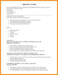 11 Sample Resume For Clerical Azzurra Castle Grenada