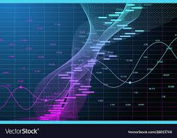 Chart Stock Photo Stock Market Graph Or Forex Trading Chart For