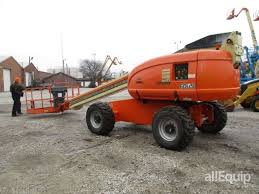 2004 jlg 600s 4wd diesel telescopic boom lift in terre haute photos videos