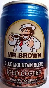There are 103 calories in 8.12 fl oz (240 ml) of mr. Iced Coffee Mr Brown 240ml
