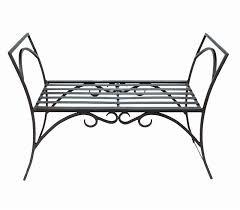 Antique Cast Iron Victorian Garden Lawn Bench  Rust Never Sleeps Outdoor Wrought Iron Bench