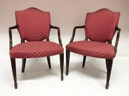 hepplewhite shield dining chairs set:  s p i w