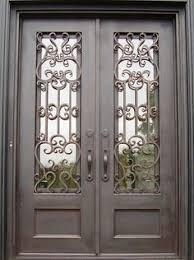 exterior double doors. Double Door Iron Doors Enchanting Exterior For