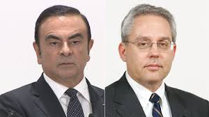 Image result for ゴーン元会長とケリー元代表取締役