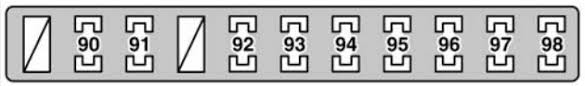 lexus gs430 2006 fuse box diagram auto genius lexus gs430 fuse box trunk