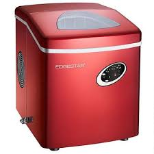 edgestar ip210red countertop ice maker