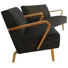 mid century modern loveseat. Pair Of Mid Century Modern Loveseats New Upholstery For Sale Loveseat R
